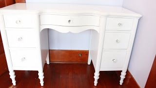 Diy: Vanity Revamp/restoration