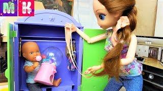 КАТЯ И МАКС ВЕСЕЛАЯ СЕМЕЙКА МАМА ЗАПРЕТИЛА ВСЕ ЖВАЧКИ Мультики с Куклами Барби