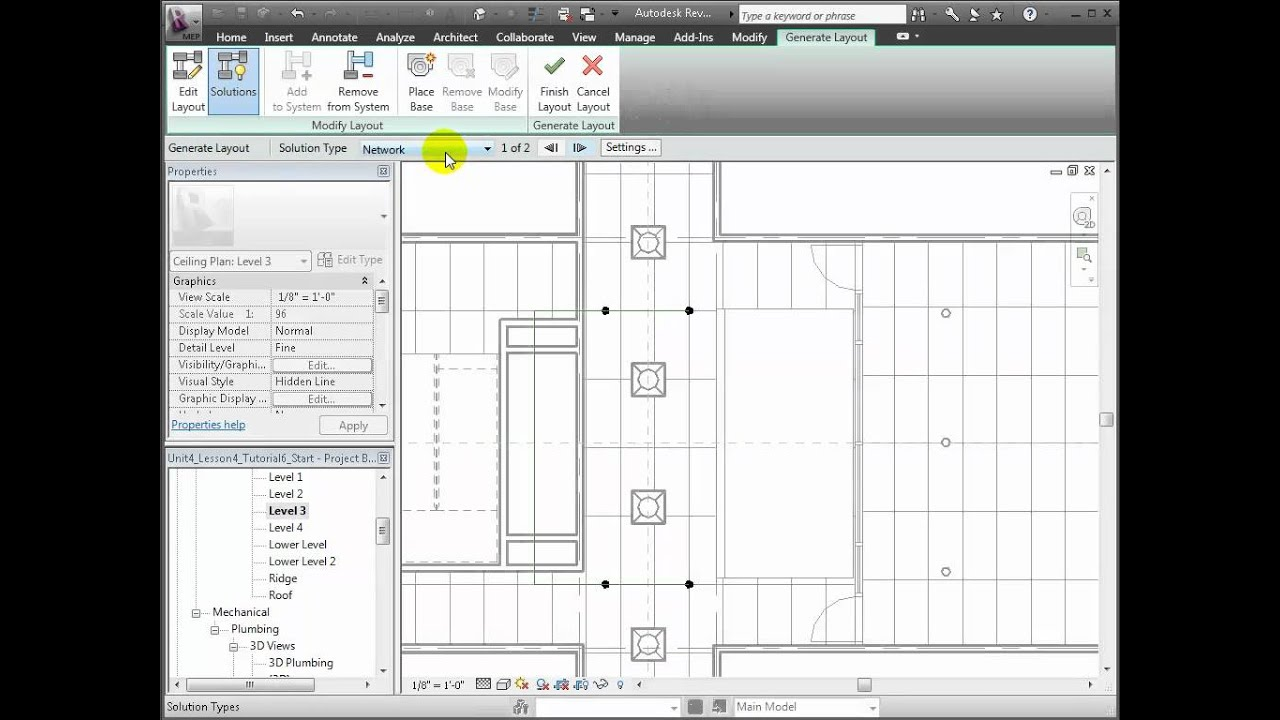 Revit MEP - Modeling Fire Protection Systems