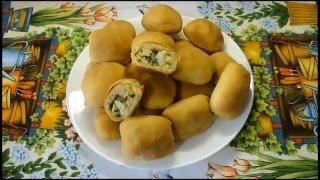 Пирожки с луком и яйцом - простой рецепт приготовления