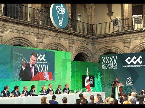 35ª Asamblea General Ordinaria del Consejo Coordinador Empresarial