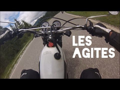 [RAW VIDEO] (Route militaire suisse) Col des Agites / route de l'Hongrin XT 500