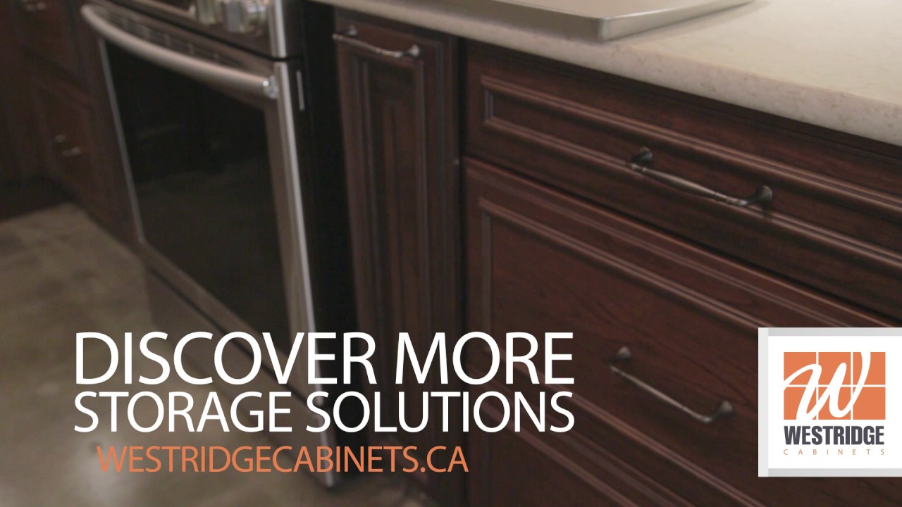Westridge Cabinets Ltd.: Everyday Easier Cooking Sheet Cabinet