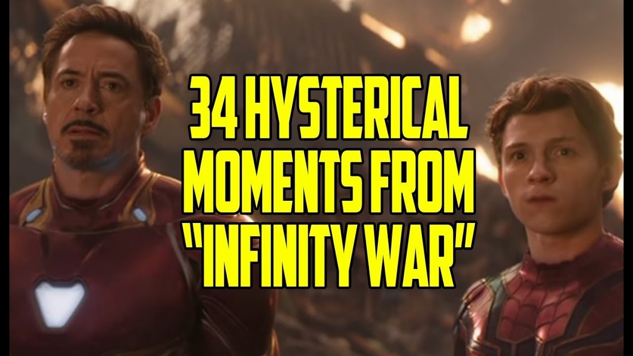 #TBT - 34 Hysterical Moments From  Avengers  Infinity War
