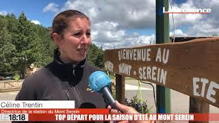 Top départ pour la saison d'été au Mont Ventoux