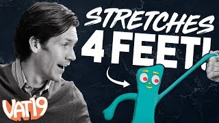 GIANT Stretchy Gumby