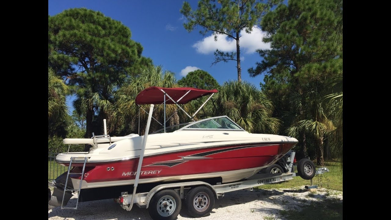 SAVE MY MARRIAGE BUY THIS 2007 Monterey Explorer 220 BOAT