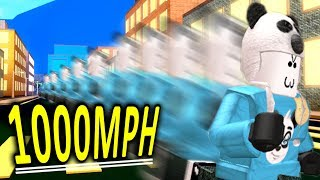 I'M THE FASTEST IN ROBLOX!! (Sprinting Simulator)