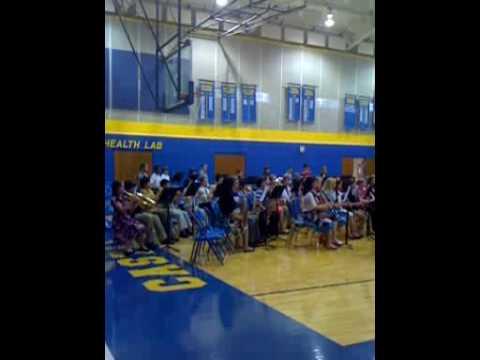 Castle North Middle School - concert #1