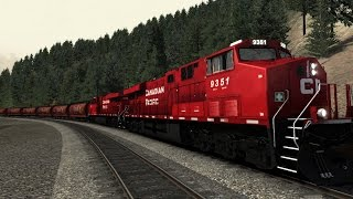 Train Simulator 2015 Canadian Mountain Pass