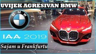 BMW | AGRESIVNI GRILLOVI NA SVE STRANE - IAA Frankfurt 2019.