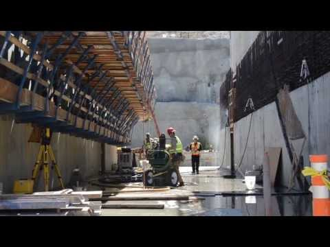 U.S. Army Corps of Engineers - Tour of New Folsom Dam Constr