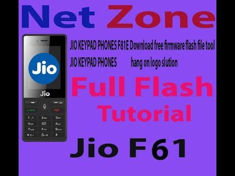 Jio Phone Flash (F61) |hang on logo | flashing | software problem fix  |hang|in hindi | by Net Zone