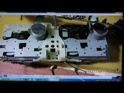 Panasonic RX-DT680 CD Double Auto Reverse Cassette Radio Inside Part 1 Of 4