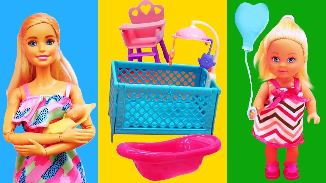 Barbie ve Sevcan yenidoğan alışverişindeler! Steffi kardeşi için eşya seçiyor #1