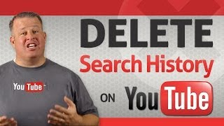 how to delete youtube search history in chrome
