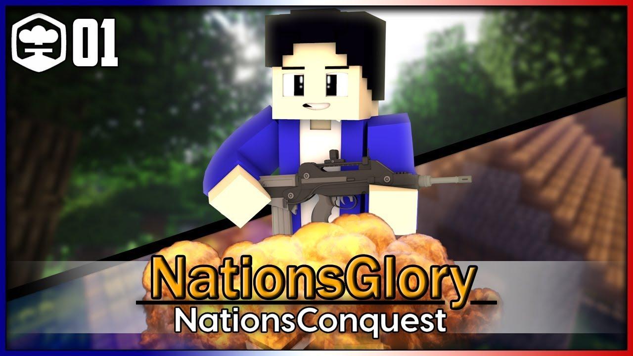 Minecraft Mod multijoueur   NationsGlory – Episode 01 : A la rencontre de Piloyt