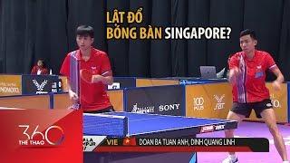Bóng bàn Việt Nam lật đổ Singapore: Khó nhưng có hy vọng