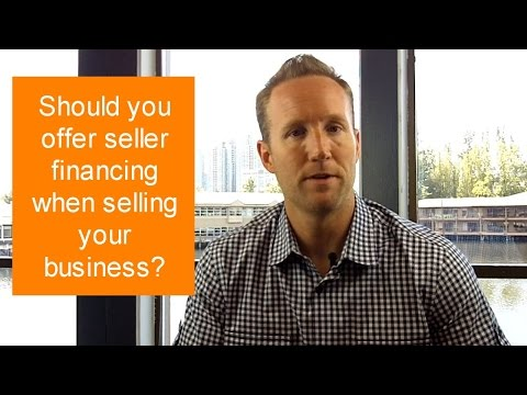 Should you offer seller financing when selling your business?