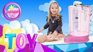 Беби Борн — автоматична душова кабінка Веселе купання Baby Born rain fun shower. РОЗПАКУВАННЯ