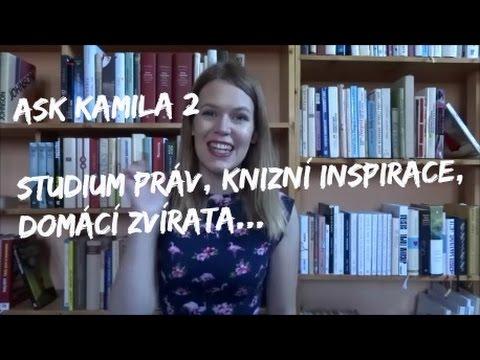 ASK 2: studium práv, moje práce, knižní inspirace...