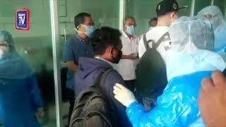 Lelaki China diarah ke bilik pengasingan