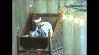 hafız fatih turgut sultan ahmet camii kutlu dogum porogramı