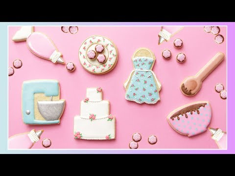 DECORATED COOKIES FOR BAKERS!