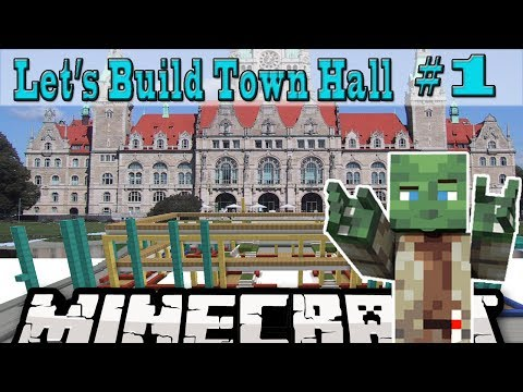 minecraft:-let's-build:-town-hall-#1