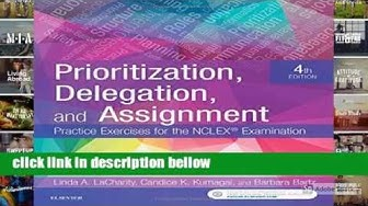Prioritization Delegation and AssignmentPractice Exercises 4th download PDF ebook