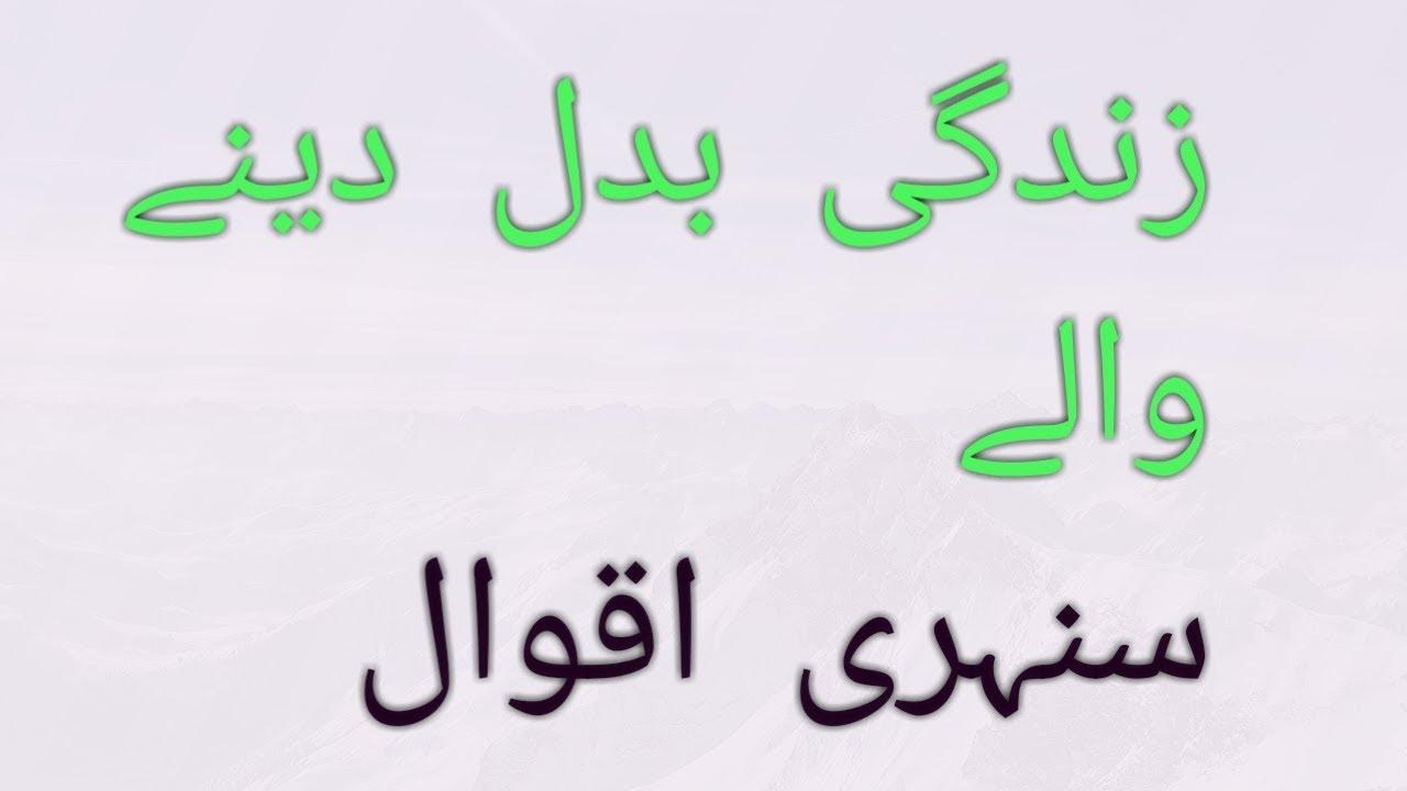 Urdu Quotesaqwal Zareen Anmol Moti Ch Shoaib Ahmed Youtube