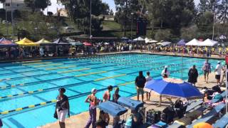 Ariel lin 50 meter breaststroke dropped 4 seconds