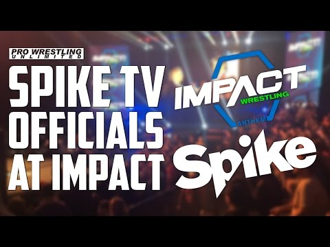 Spike TV Officials Attend IMPACT Wrestling TV Tapings