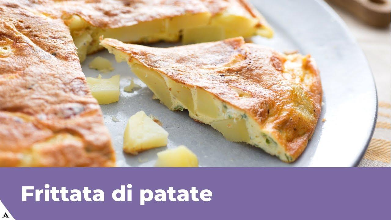 Ricetta Tortilla Spagnola Giallo Zafferano.Frittata Di Patate In Padella Velocissima Youtube