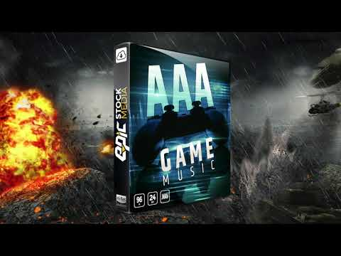 AAA Game Music Loops Library