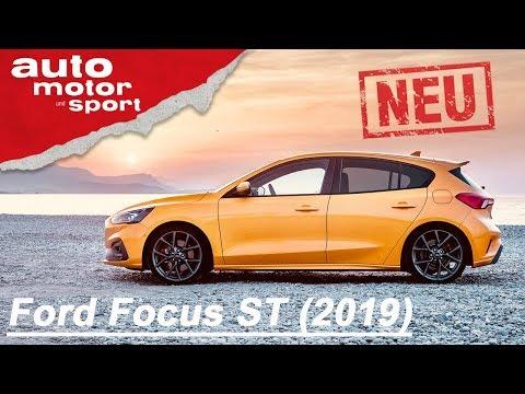 Neu: Ford Focus ST 2019: So Gut Wie Der Fiesta? | Review | Auto Motor Und Sport