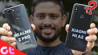 Realme 2 Pro vs Xiaomi Mi A2 Comparison, Camera, Speed, Design, Battery