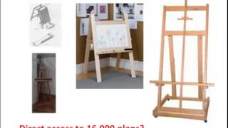Easel Plans: Would You Like To Make A Painting Easel? Click Here