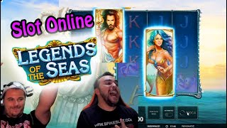 SLOT ONLINE - GIOCHIAMO ALLA LEGENDS OF THE SEAS!