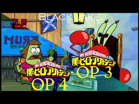 Boku No Hero Academia Opening 3 Vs Opening 4