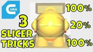 3 Cura Slicer Setting Tricks For Beginners