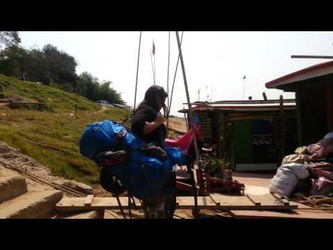 Slow boat from Huai Xai to Luang Prabang - February 2016