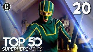 Top 50 Superhero Movies: Kick-Ass - #20