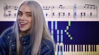 LOVELY (Billie Eilish, Khalid) - Piano Tutorial + SHEETS