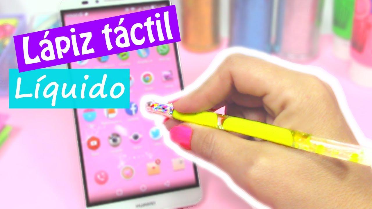 Manualidades Lápiz Táctil Líquido Stylus Para El Móvil Innova Manualidades Youtube