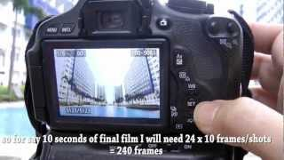 HDR Time-lapse with Magic Lantern and Canon T3i 600D Part 1