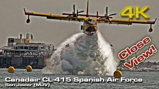 Impressive Canadair CL-215T [4K] SAF Demo!