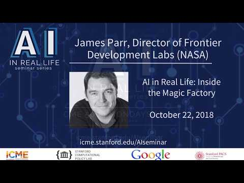 James Parr - Director, Frontier Development Lab (NASA), FDL Europe (ESA) CEO, Trillium Technologies