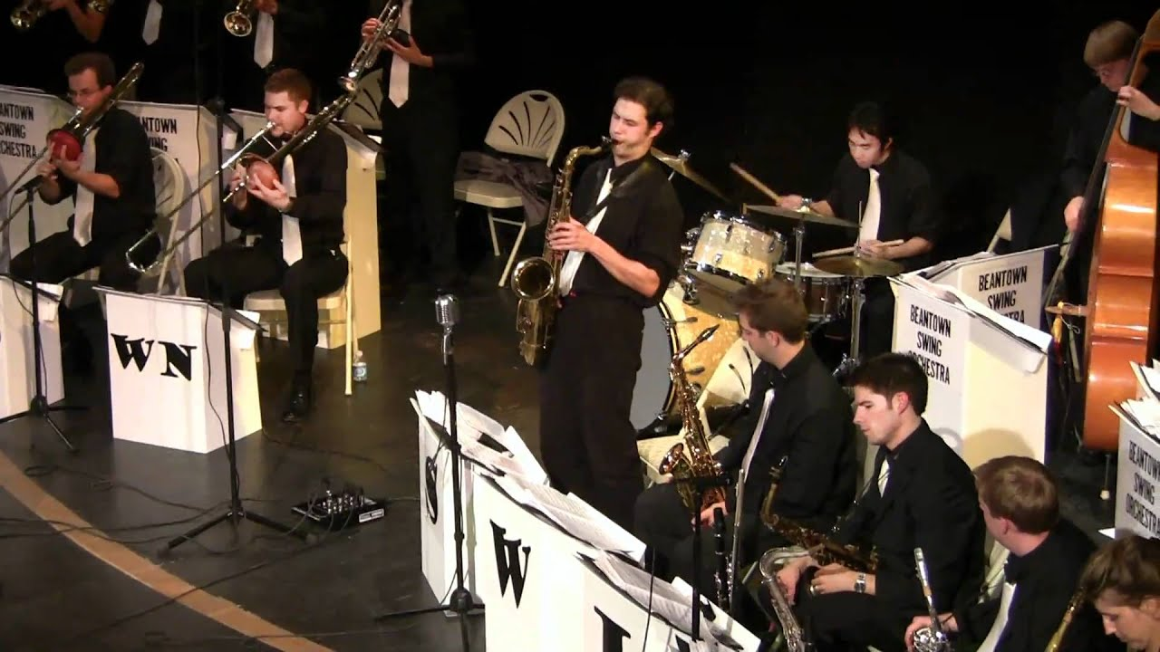 Annie Laurie Beantown Swing Orchestra 9 4 10