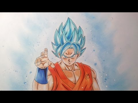 Drawing Goku Super Saiyan Blue Super Saiyan God Super Saiyan